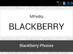 MPedia-BLACKBERRY 0.0.1 Screenshot