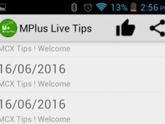 MPlus Live Tips 1.8.0 Screenshot