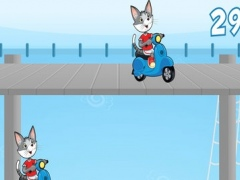 Mr Cat and Mouse Scooter Jump 1.1 Screenshot