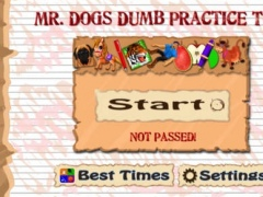 Mr. Dog's Dumb Puzzle Practice Test (Now Free!) 1.1 Screenshot