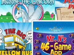 Mr. Nussbaum 46 Game Super APP 1.0.0 Screenshot