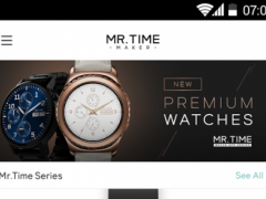 MR.TIME MAKER for ANDROID WEAR – FREE Watch Faces  Screenshot