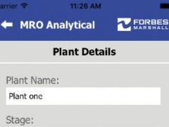 MRO Analytical 1.1 Screenshot