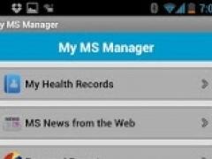 MSAA Self-Care Manager 1.20 Screenshot