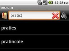 mSPDict - English dictionary 4.3.1 Screenshot