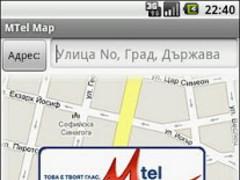 MTel Map 1.0 Screenshot