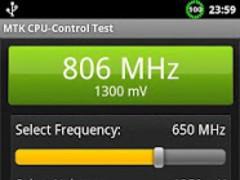 MTK CPU-Control test 1.2 Screenshot
