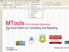 MTools Excel Add on (Free) 1.10 Screenshot