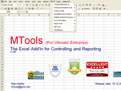 MTools Pro Excel Add in 1.10 Screenshot