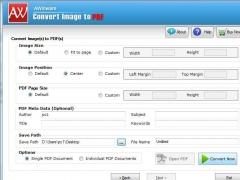 Multi-frame TIFF Image to PDF Converter 1.0.1.2 Screenshot