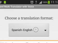 Multi Translator with Voice 1.1 Screenshot
