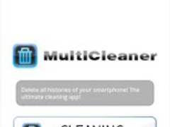 MultiCleaner(Clear histories) 1.0.2 Screenshot