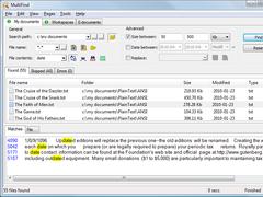 MultiFind 1.51 Screenshot