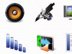 Multimedia Icons Vista 1.0 Screenshot