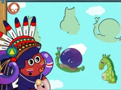 Multipets Puzzle - Game for kids with funny characters and cute animals 1.2 Screenshot