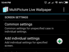 Review Screenshot - Live Wallpaper – Have Multiple Wallpapers for Each of Your Screens