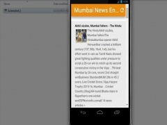 Mumbai News Hindi 0.1 Screenshot