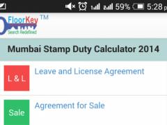 Mumbai Stamp Duty Calc 2015 1.0.13 Screenshot