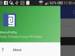 MunuPotha| Sinhala Funny Jokes 1.0 Screenshot