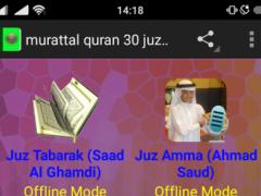 murattal quran 30 juz mp3 1.4 Screenshot