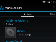 Music AOSP+ 1.0.4 Screenshot