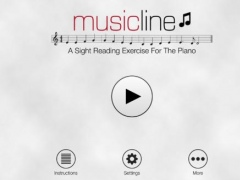 Music Line: A sight-reading exercise for the piano 1.0.1 Screenshot