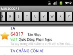 MusicCore Karaoke List Vol 51 1.2 Screenshot