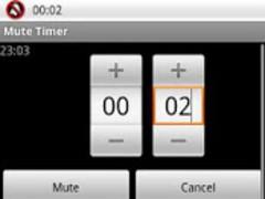 Mute Timer 1.4 Screenshot