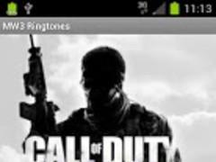 MW3 Ringtones Modern warfare 3 1.0 Screenshot