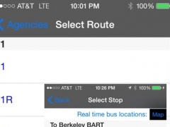 My AC Next Bus Real Time - Public Transit Search and Trip Planner Pro 16.34 Screenshot