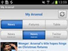 My Arsenal News 1.0.1 Screenshot