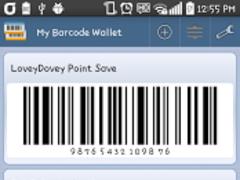 My Barcode Wallet 6.1 Screenshot