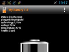 My Battery info discharge 1.3 Screenshot