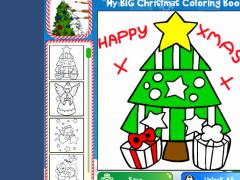 My Big Christmas Coloring Book 1.1.1 Screenshot