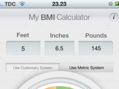 My BMI Calculator 1.0 Screenshot