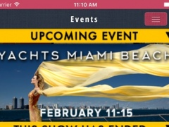 My Boat Show Events from Show Management 2.2.0 Screenshot
