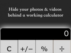 My Calculator - Hide photos and videos 1.3 Screenshot