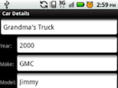 My Car Info 1.0 Screenshot
