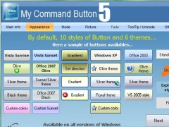 My Command Button ActiveX 5.16 Screenshot