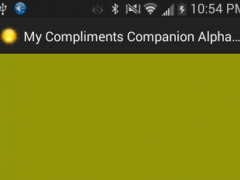 My Compliments Companion 1.0.1 Screenshot