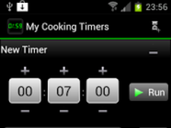 My Cooking Timers 1.3.3 Screenshot