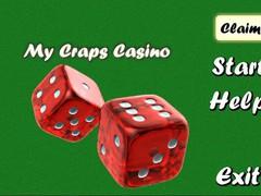 My Craps Casino 1.03 Screenshot