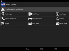 DAT Trucker - GPS + Truckloads 4.6.5 Screenshot