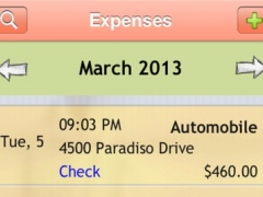 My Expense Tracker Diary with GPS 2.0 Screenshot