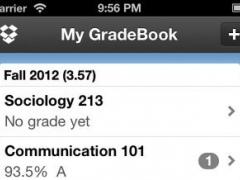 My Grades & Homework 2.3 Screenshot