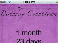 My Happy Birthday Utility 1.1 Screenshot