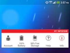 My InfoZone™ Widget  Screenshot