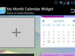 My Month Calendar Widget 1.0.6 Screenshot