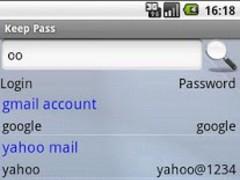 My Password 2.3.6 Screenshot