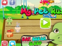 My Pet Rush: Cute Cartoon Baby Animals Sprint Competition 1.3 Screenshot